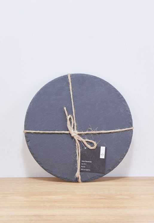 2 Pack Slate Placemats