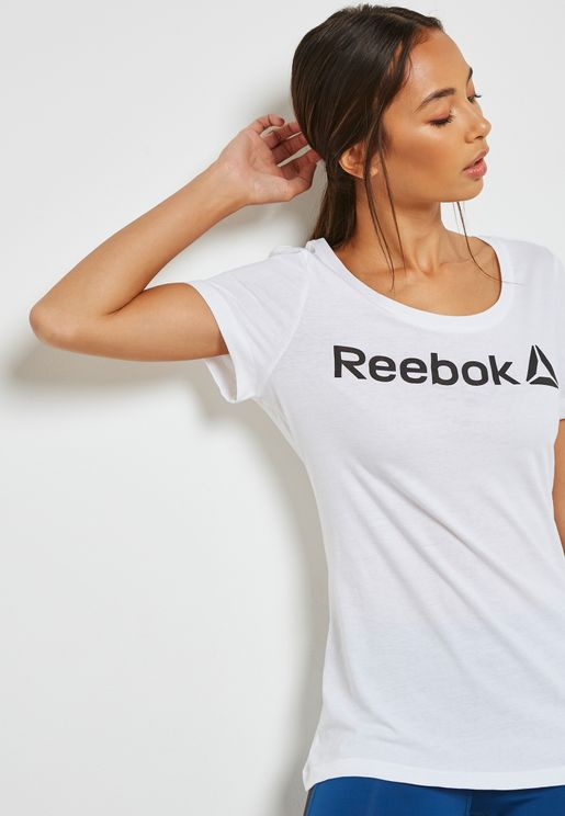 Linear Read Scoop T-Shirt