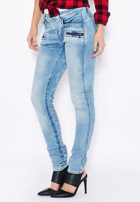 G-Star Raw G-Star Davin Zip High Waist Super Skinny Jeans