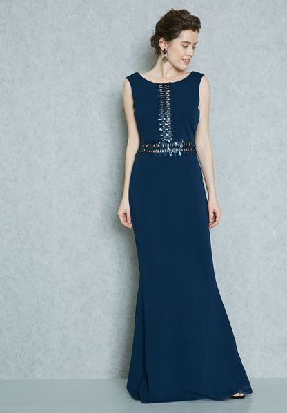 Sequin Insert Dress