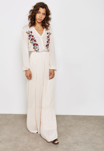 ... White Embroidered Maxi Dress. Coming Soon