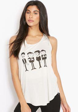 Ginger Beatles Printed Vest