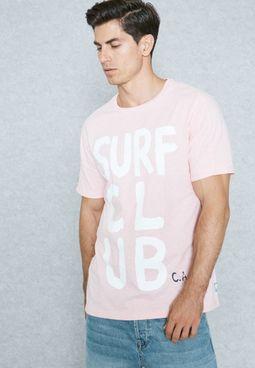 Surf Club Printed T-Shirt