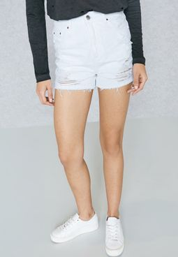 MOTO Mom Ripped Shorts