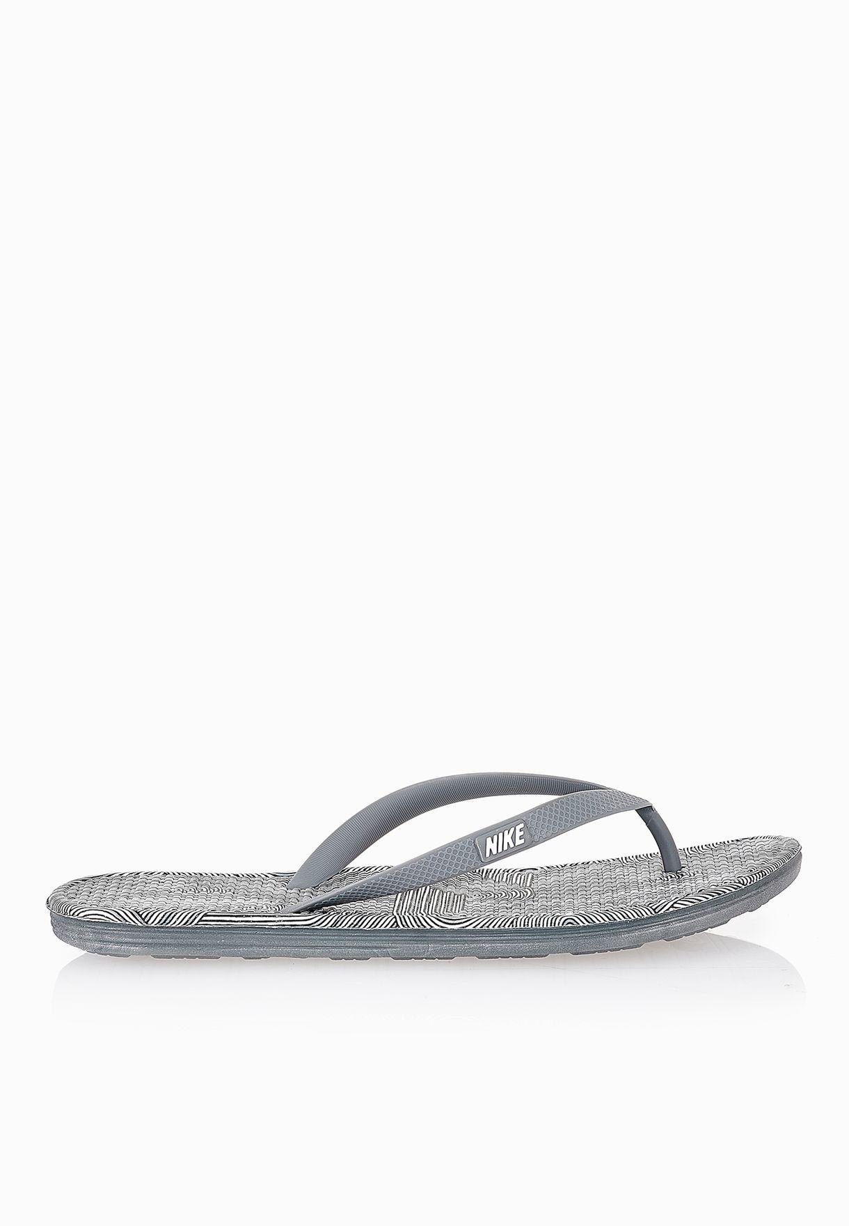 a6b1baf71 Shop Nike grey Solarsoft Thong 2 Print 511365-017 for Men in Saudi -  NI727SH29GIW