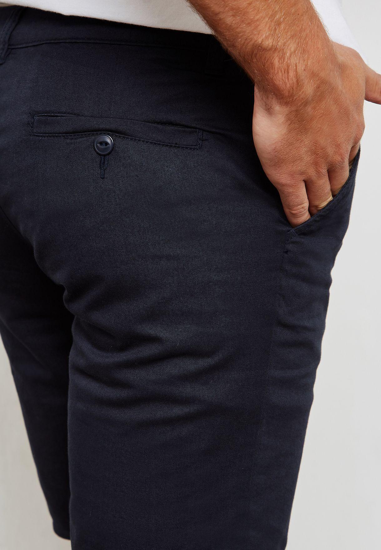Slim Fit Chino Short
