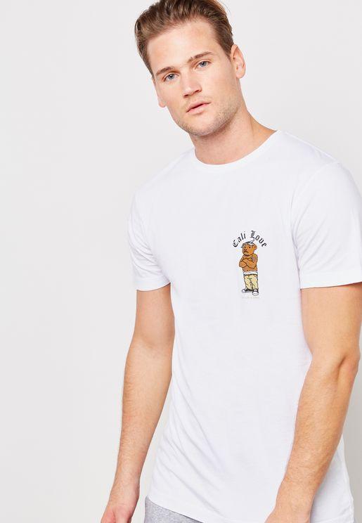C&S Wl Love Crew Neck T-Shirt