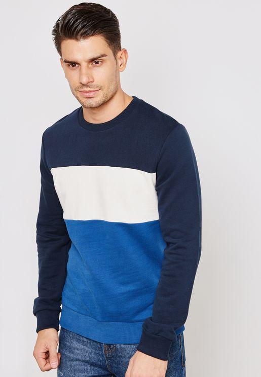 Parker Color Block Sweatshirt