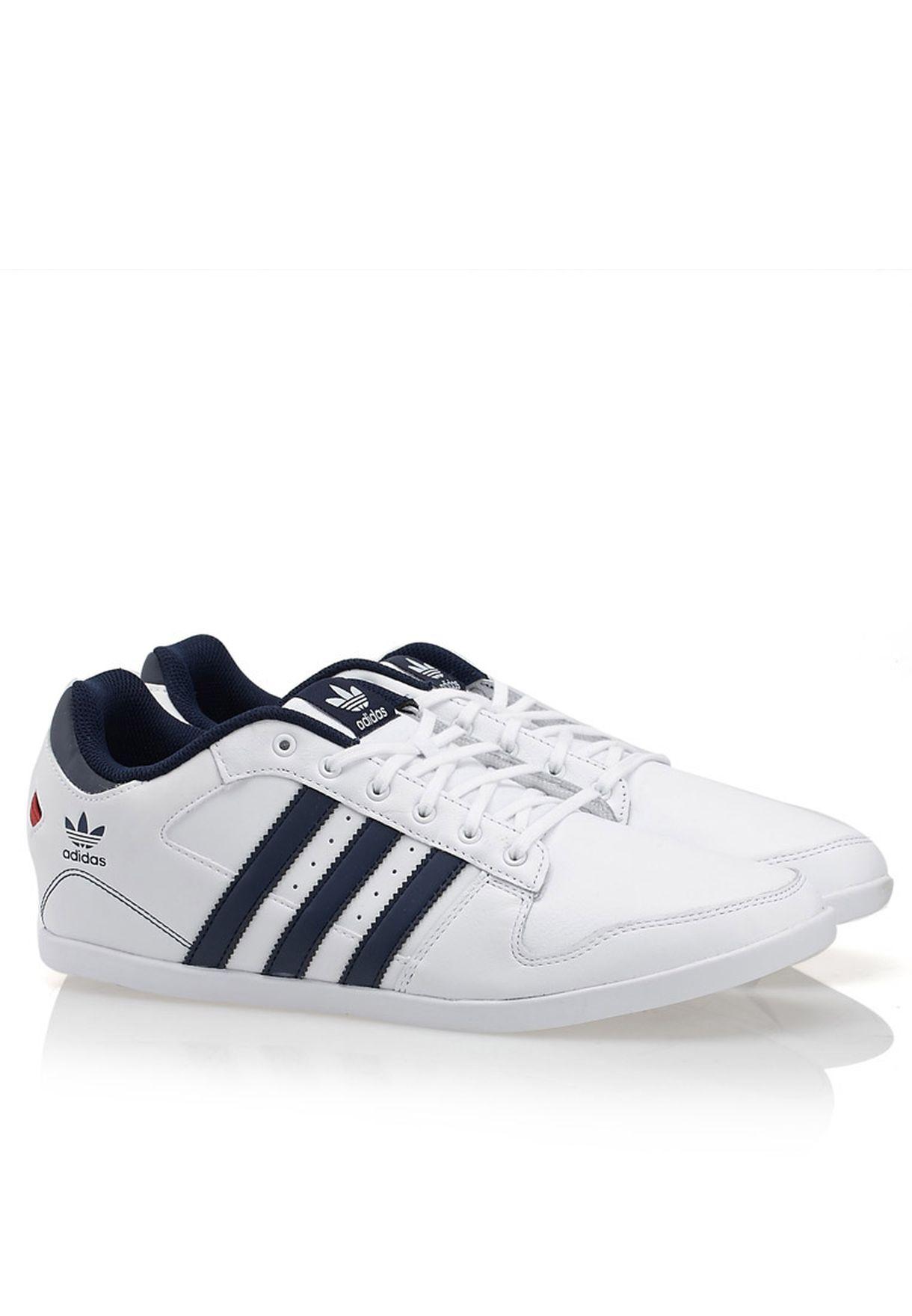 Shop Adidas Originals White Plimcana Lo Adidas Originals