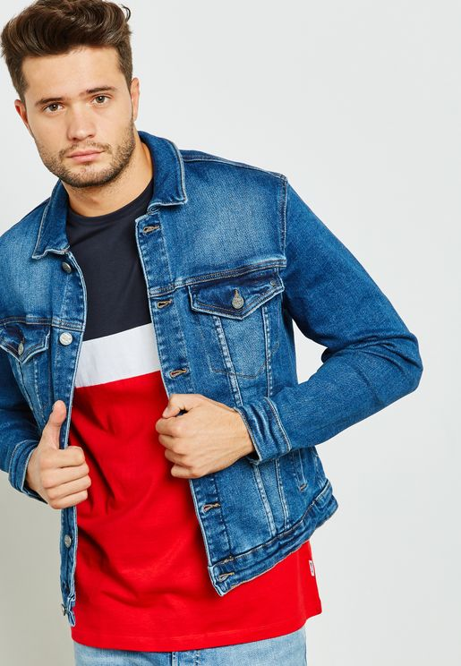 Coin Pocket Denim Jacket