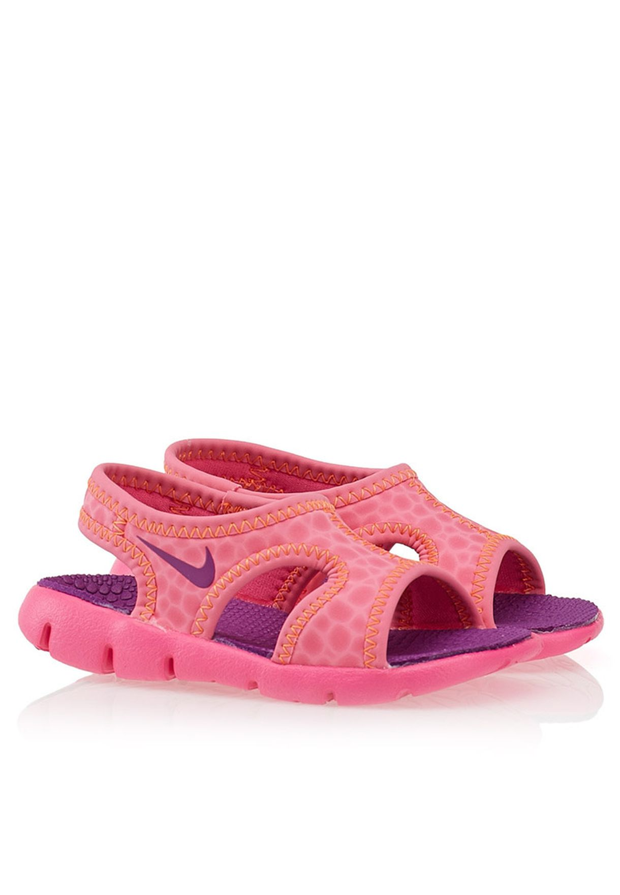 62e88d093f4606 Shop Nike pink Sunray 9 Infant 343975-507 for Kids in UAE - NI727SH29PVE