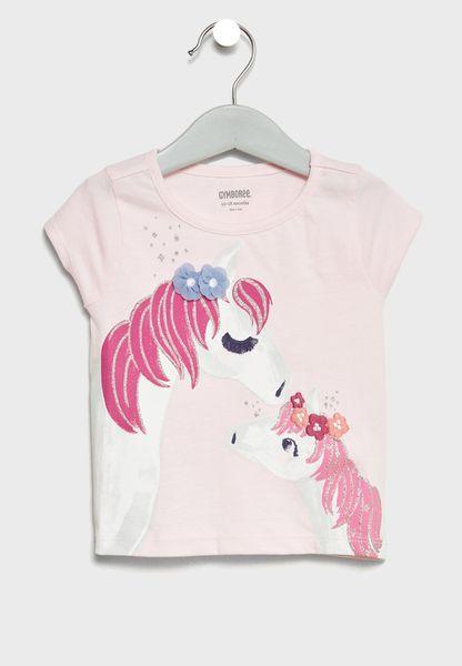 Infant Horse Graphic T-Shirt
