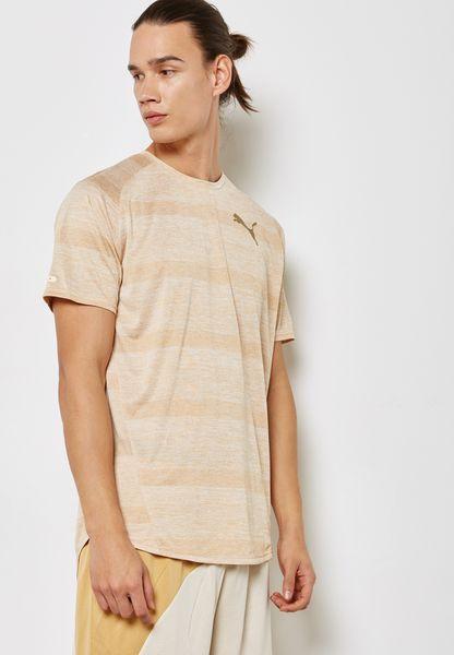 Raglan Striped T-Shirt