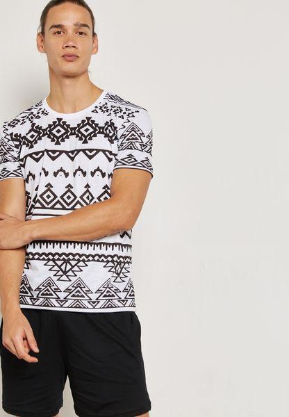 Striped Nightwear Set