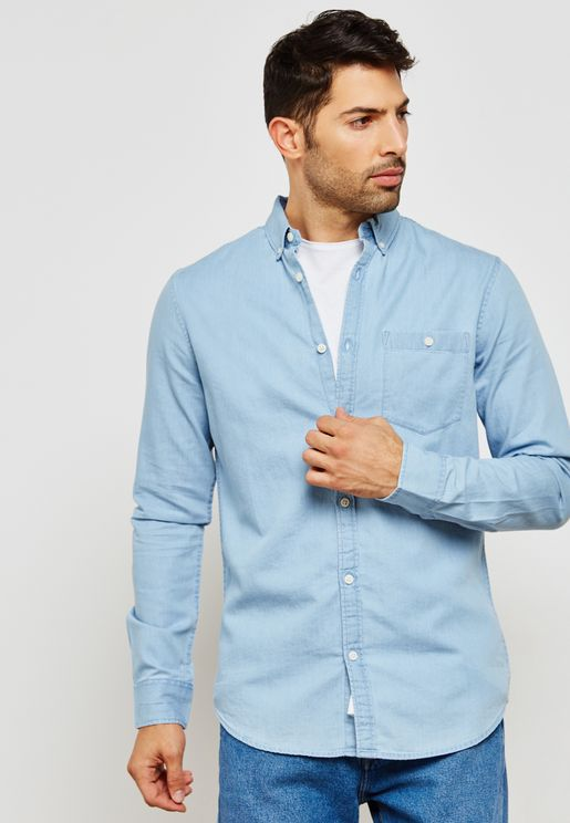 Washed Denim Shirt