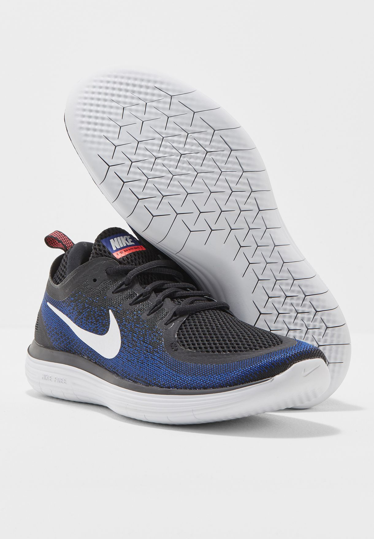 25e6ee71a0c40 Shop Nike blue Free Rn Distance 2 863775-009 for Men in UAE ...