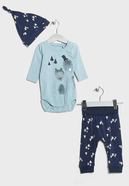 Infant T-Shirt + Pyjamas Set