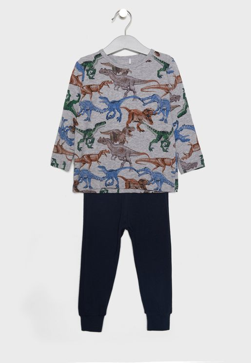 Kids Printed Pyjama Set