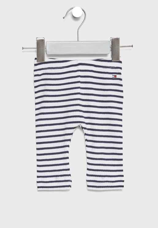 Infant Striped Sweatpants