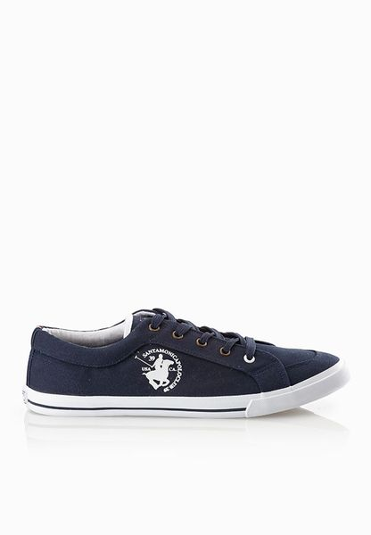 Shop Santa monica polo club navy Wilton Sneakers M610045A for Men in UAE   SA495SH29NDY
