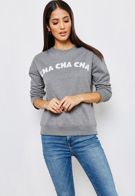 Slogan Sweatshirt