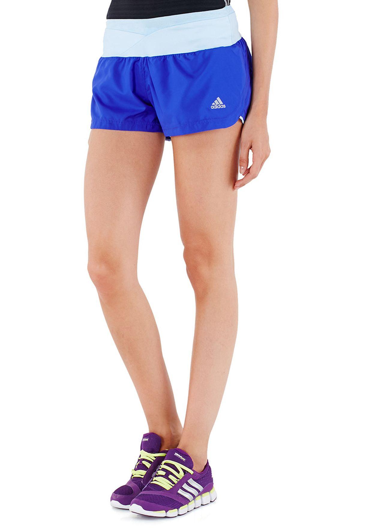 aa96dd898 Shop adidas blue Supernova Glide Shorts S16221 for Women in UAE ...