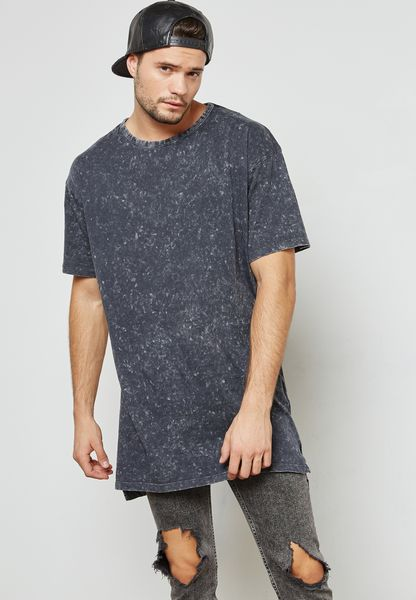 Washed Longline T-Shirt