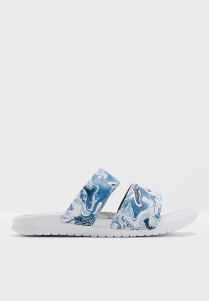 Shop Nike prints Benassi Duo Ultra Slide 819717-002 for Women in UAE -  NI727SH29KAO