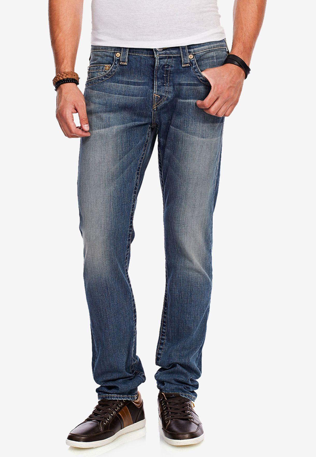 b49257f76 Shop True religion blue Rocco Skinny Jeans for Men in Bahrain ...