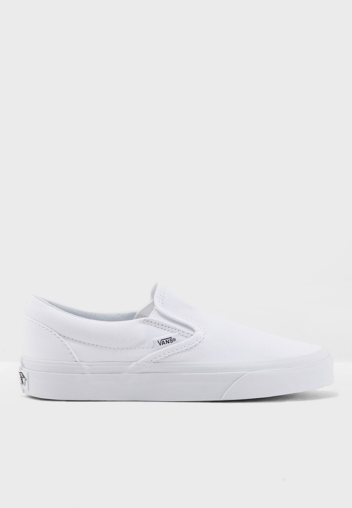 c5524d077977a3 Shop Vans white Classic Slip Ons EYEW00 for Women in Saudi ...