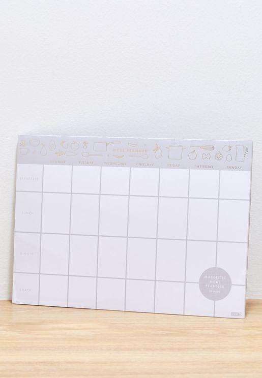 جدول تخطيط للوقت بقياس A4