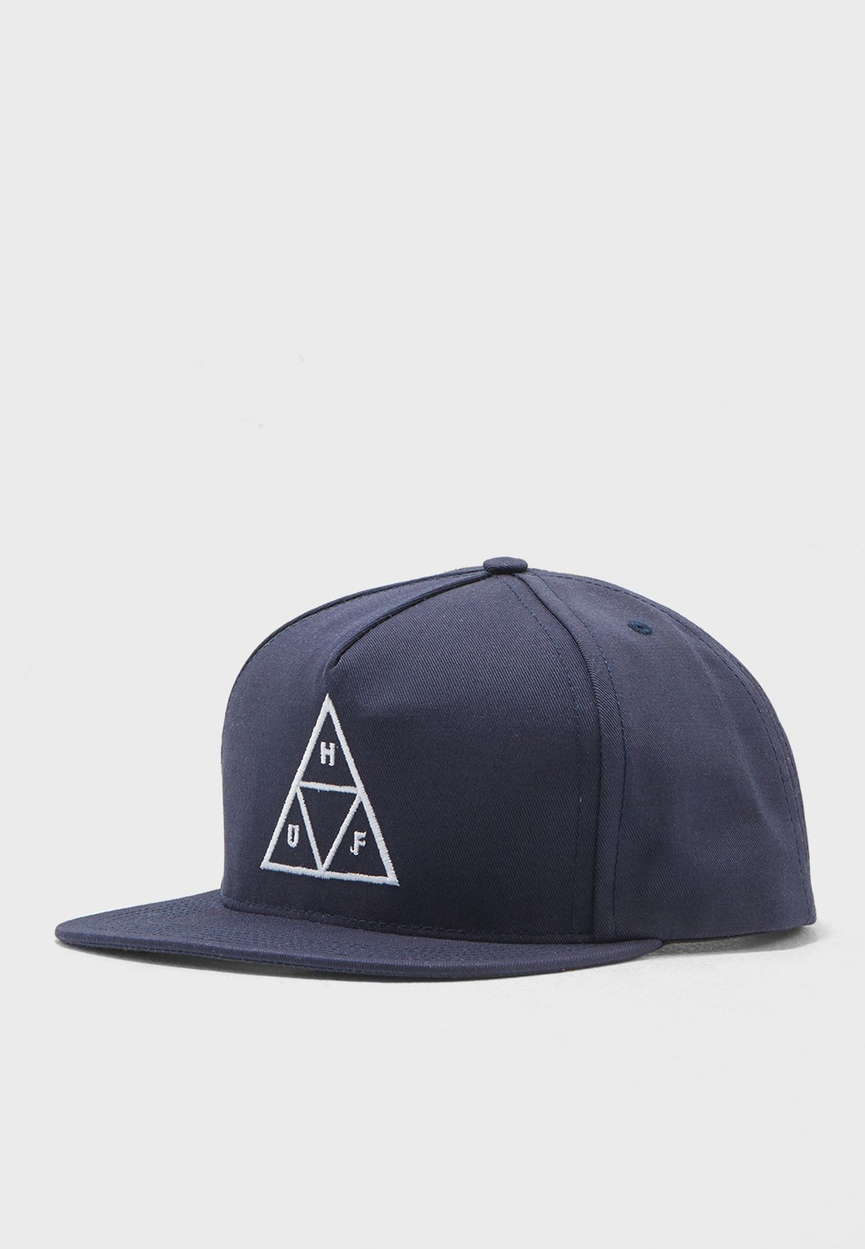 Shop HUF navy Triple Triangle Snapback HTBSC0084 for Men in Oman -  HU990AC29DWC b565b0218115