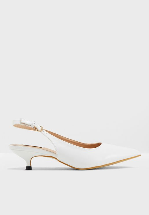 Adda Heeled Pumps