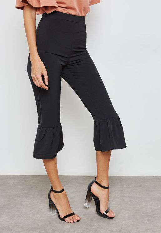 Frill Detail Pants