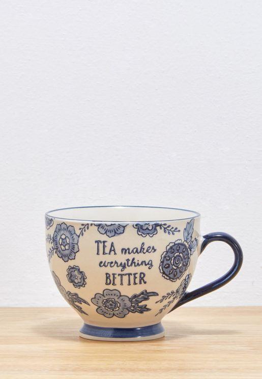 Floral Willow Mug