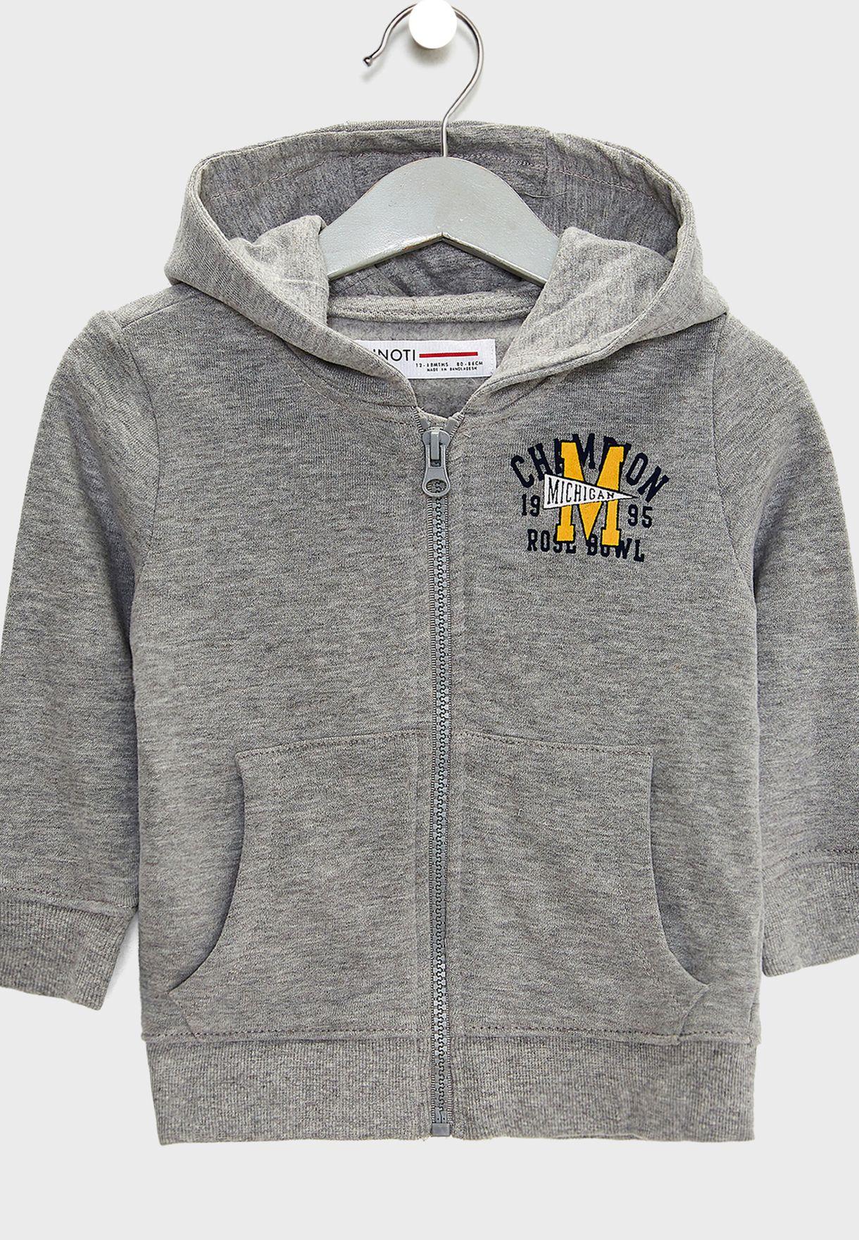 Infant Zip Through Hoodie
