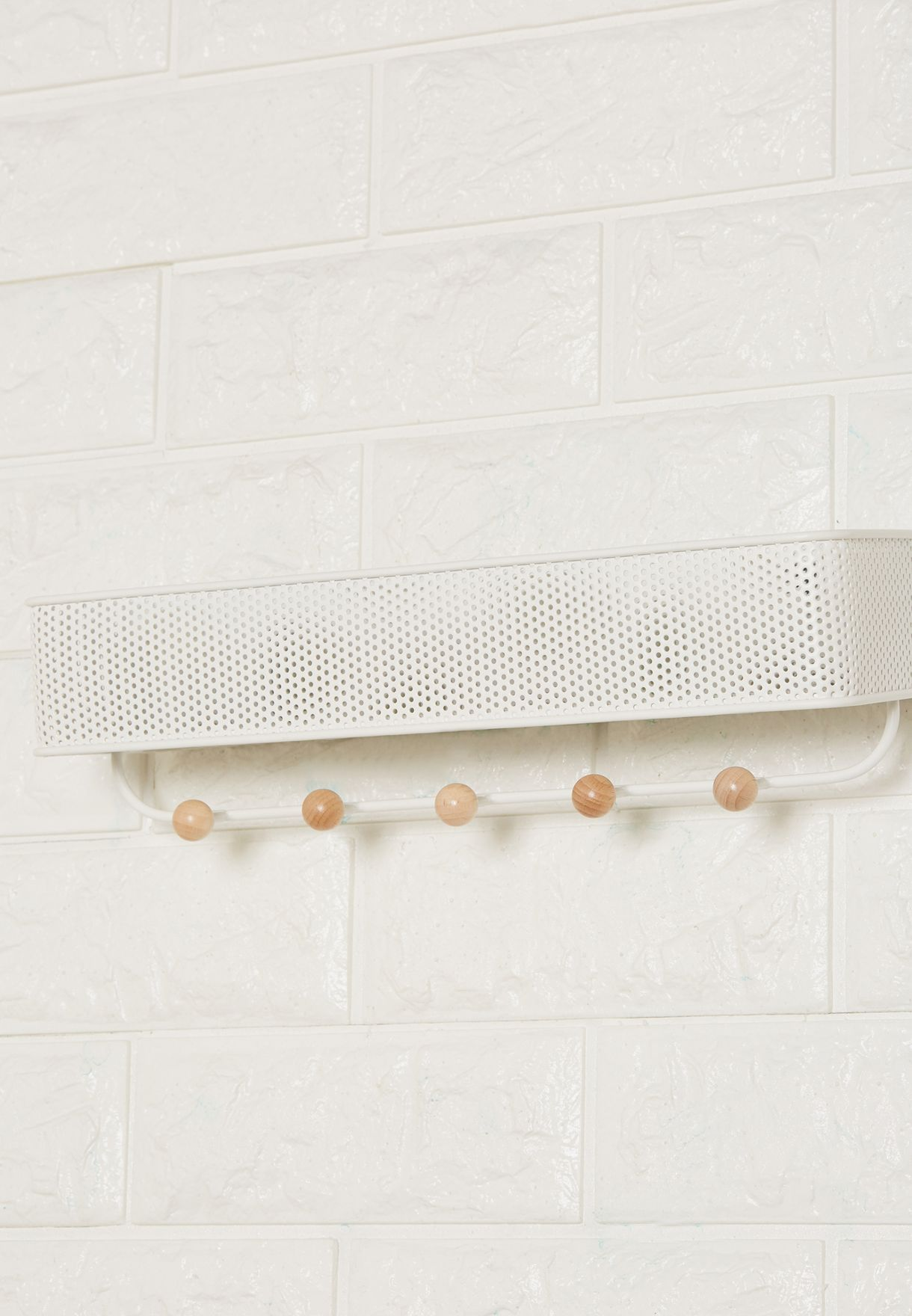 Estique Wall Organizer With Hooks
