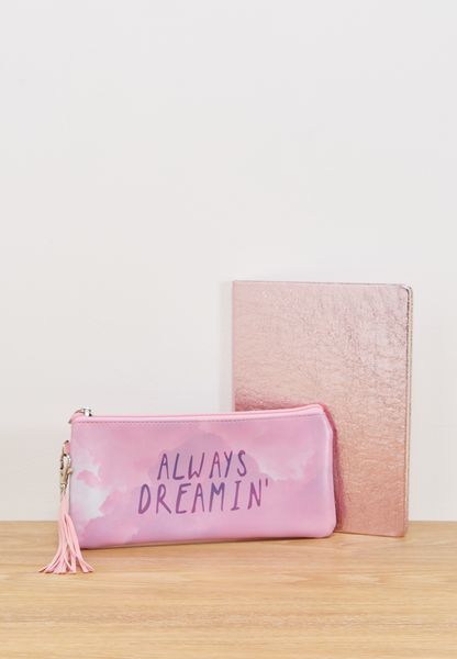 Dreaming Notebook & Pencil Case