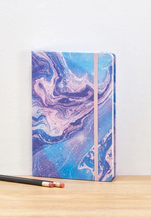 A5 Mermaid Marble Journal