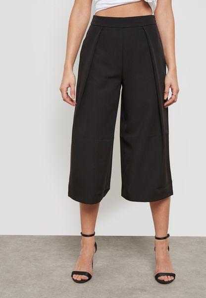 Premium Core Pleat Front Culottes