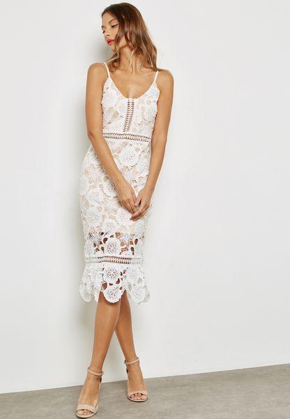 Flare Mermaid Midi Dress