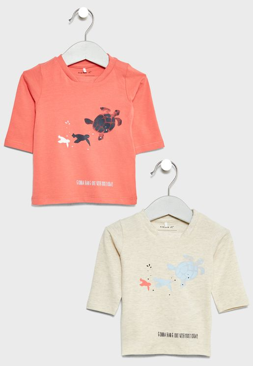 2 Pack Graphic T-Shirts