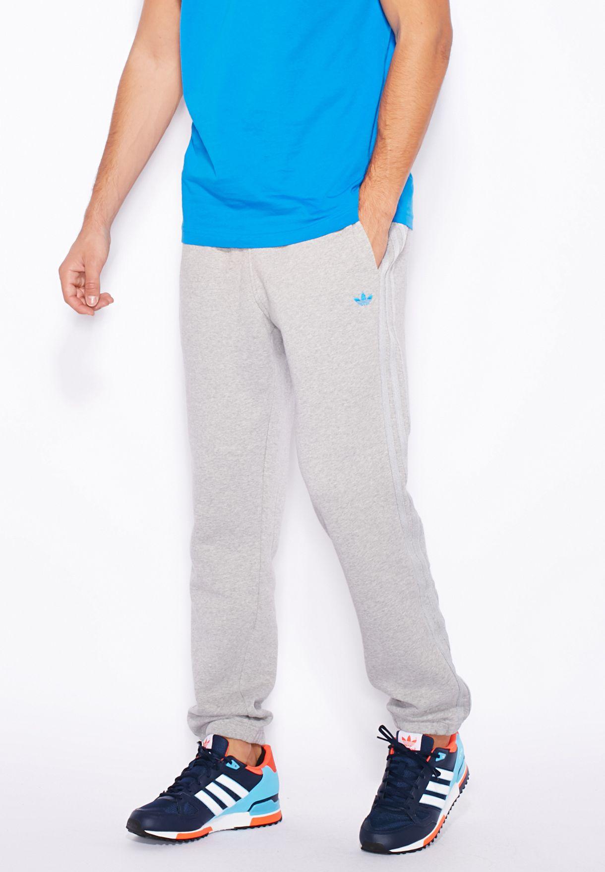 Shop adidas Originals grey Classic Trefoil Sweatpants AJ7694 for Men in  Qatar - AD478AT19UNO 5ed9eb665f