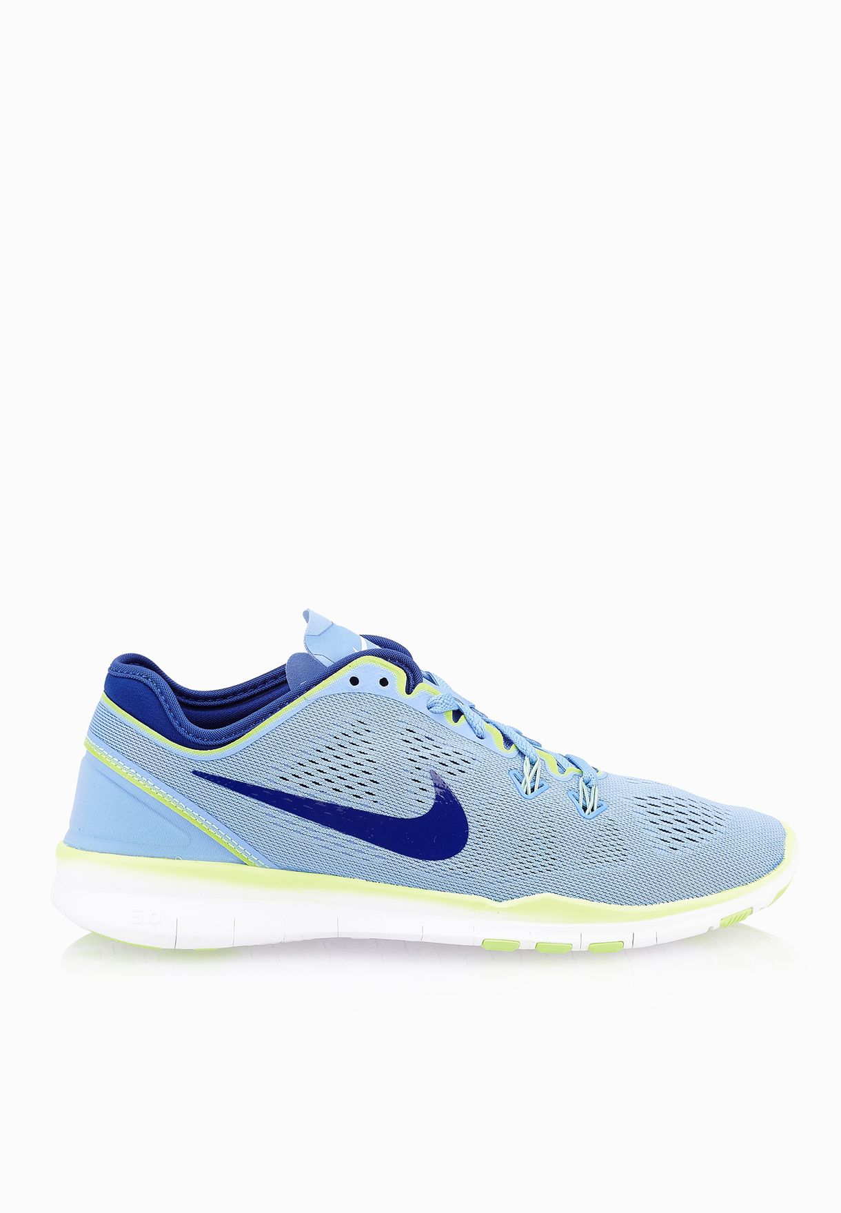 659be0dfb91de Shop Nike blue Free 5.0 TR Fit 5 704674-402 for Women in UAE - NI727SH19XMM