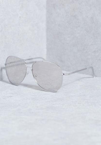 نظارة شفافة