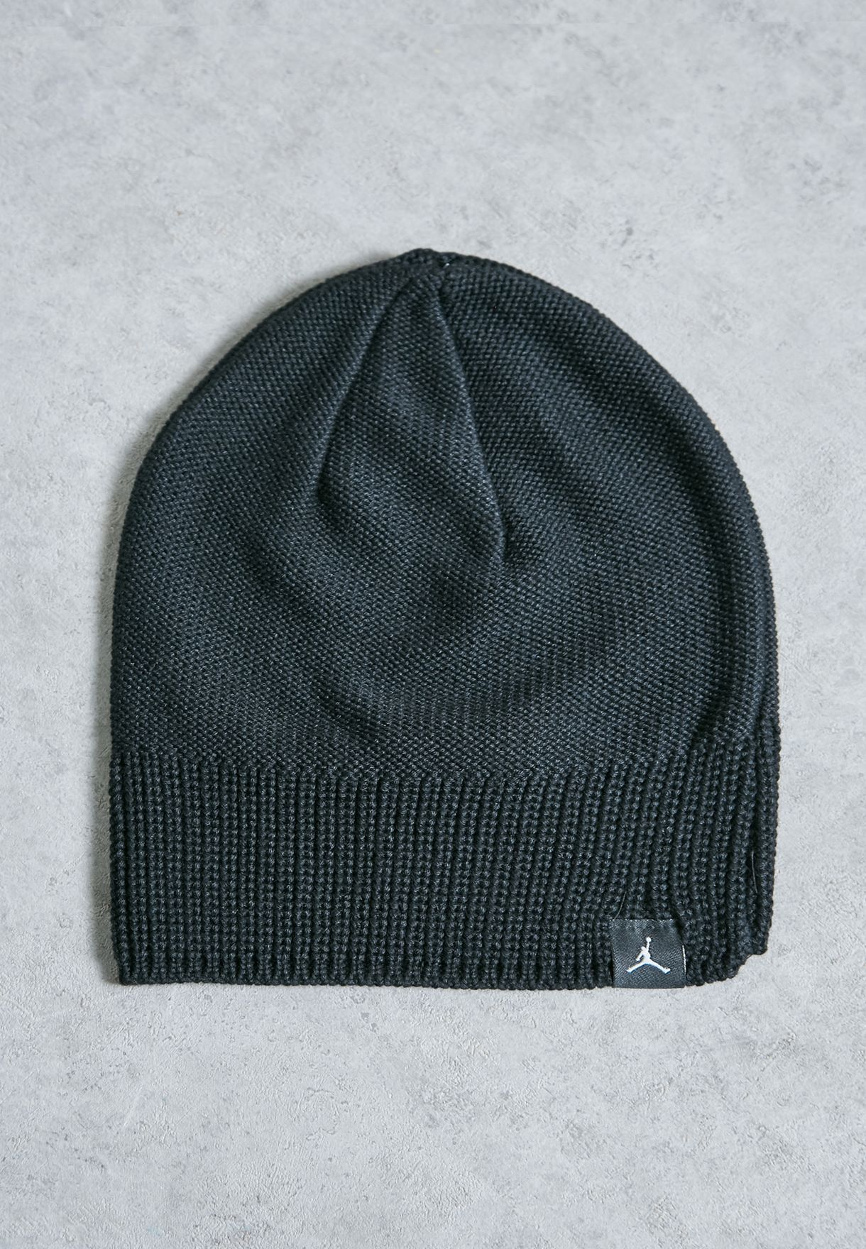62c3e1fc165 Shop Nike black Jordan Jumpman Beanie 801769-010 for Men in UAE ...
