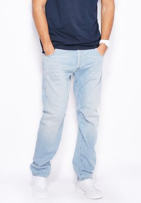 G-Star Raw Wardour Stretch Relaxed Light Wash Jeans