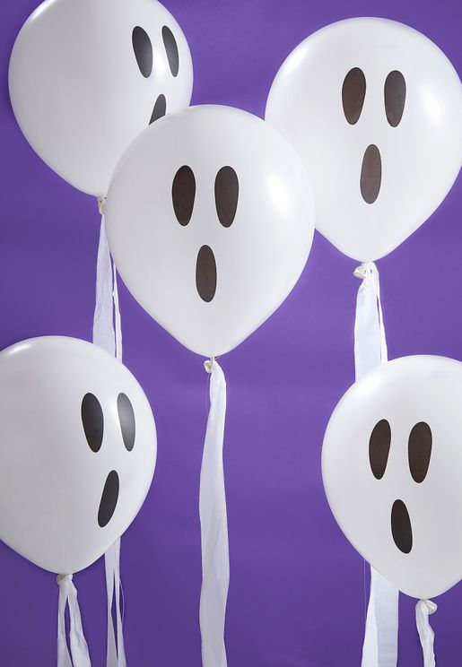 Ghosts Confetti Balloons