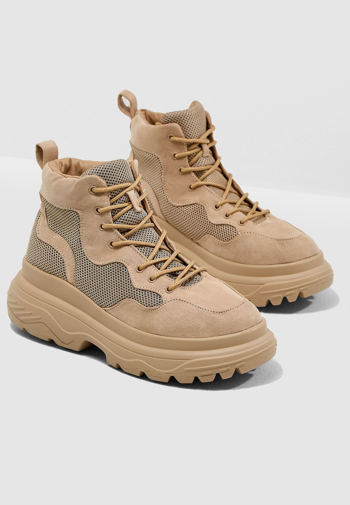 Sole Hiking Sneaker Boot