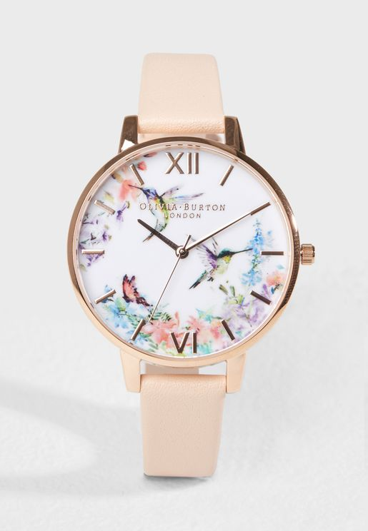 Painterly Prints Analog Watch